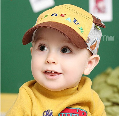 Spring style cap baseball cap baby hat baby hat pocket