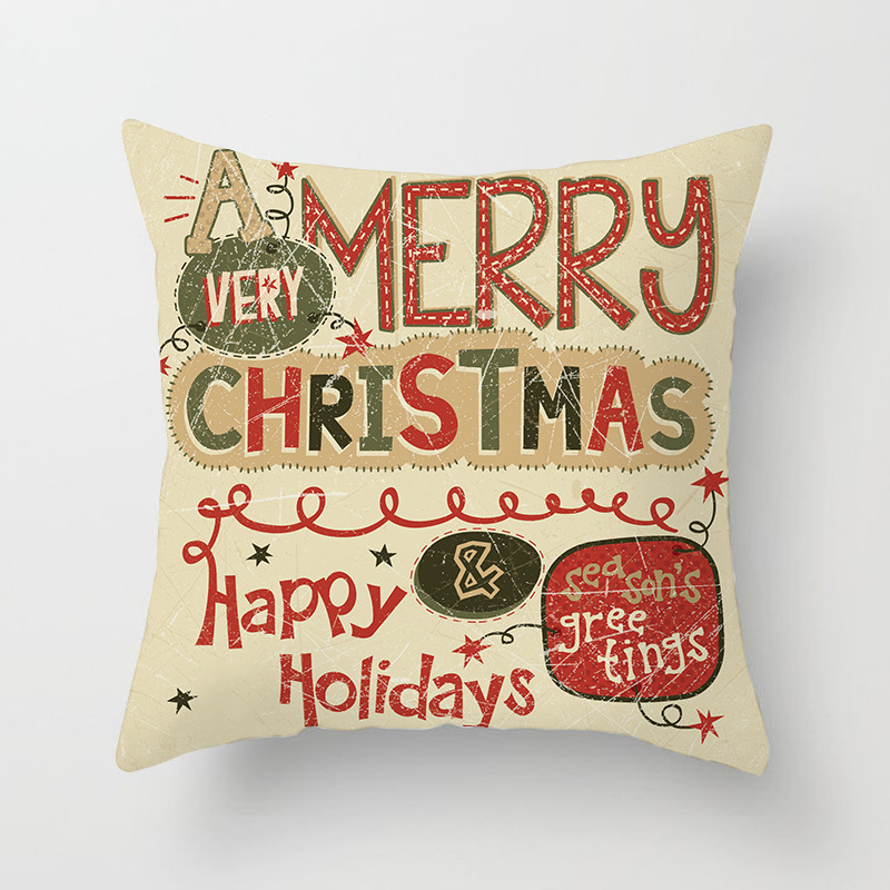 Merry Christmas Decorations For Home Decoration Noel 2018 Christmas Ornaments Christmas 2018 Decor Pillow Case Gifts Xmas Decor  (12)