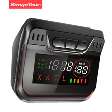 Range Tour Radar Detector for Russian Police  Speed  with Car GPS AntiRadar Detectors 360 Degree Hidden Led 2 in 1 Auto X CT K L