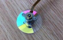 Новый TDP-TS20 TDP-T45 проектор цветовое колесо 4 сегмента 35 мм