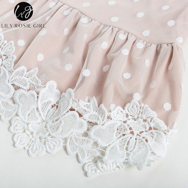 Vestido Lace Dot