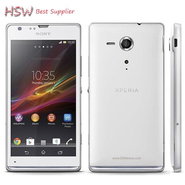 Горячие Продажа Оригинальный Разблокирована для Sony Xperia Sp Сотовых Телефонов M35h C5303 C5302 3 г и 4 г Android Wifi Gps 4.6 ''8mp Камера доставка