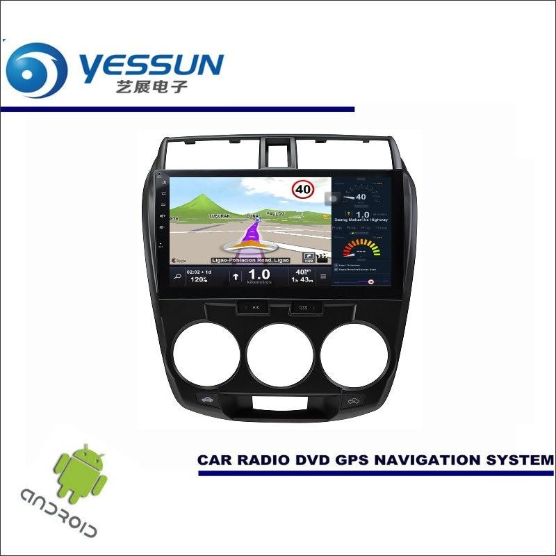 YESSUN Car Android Player Multimedia For Honda City / City Ci 2008~2013 Radio Stereo GPS Nav Navi ( no CD DVD ) 10.1 HD Screen