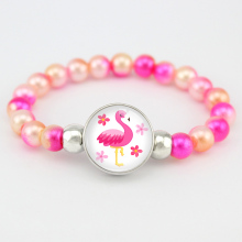 Flamingos Beads Bracelets Unicorn Mermaid Fashion Jewelry Women Girls Birthday Gift Many Styles to Choose