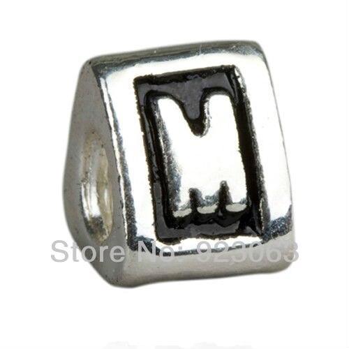 Metal Alphabet Letter Beads