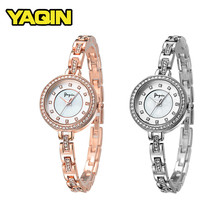 2018 Bracelet Women Quartz Watches Ladies Fashion Diamond Watch Jewelry Rose Golden Watch relogio masculino