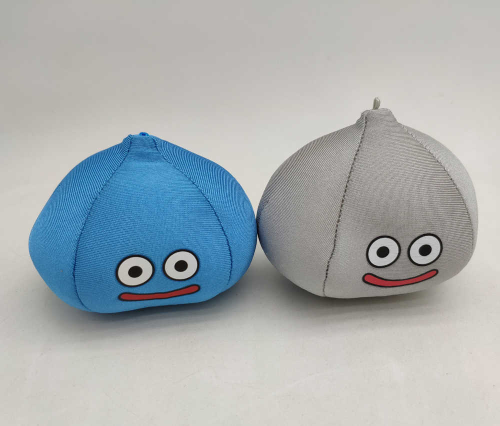 4pcs Dragon Quest Smile Angel Slime King Slime Slime Plush Doll NEW
