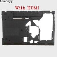 New Original Laptop Bottom Base Case Cover For Lenovo G570 G575 Black HDMI Combo