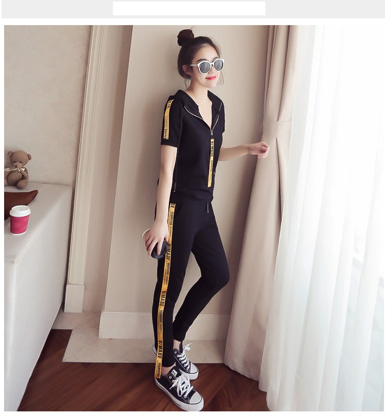 Youth clothing for women tracksuit for women 2 piece set Large size clothing for women Knitted pullover Hooded tops + pants 4558 32