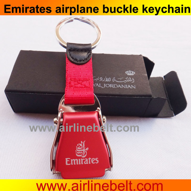 eb9becac01f981 Metal Lada Key Chain DIY Car Logo Keychain Keyring Royal Jordanian KLM  Emirates Airlines Seat Belt