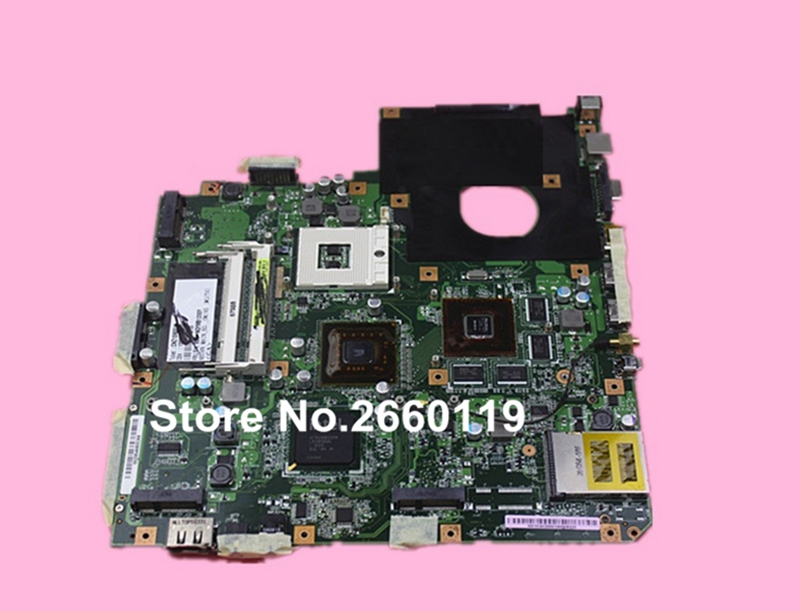 ФОТО 100% Working Laptop Motherboard For Asus N50VN Main Board Fully Tested and Cheap Shipping
