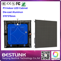 p3 indoor led cabinet die cast aluminum cabinet 576*576mm led video wall for p3 indoor led display screen