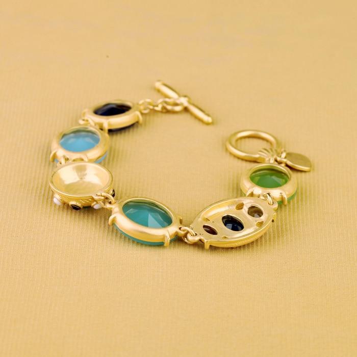 Novi Dolazak Nakit Shiny Gem Stone Visokokvalitetne narukvice u boji - Modni nakit - Foto 5