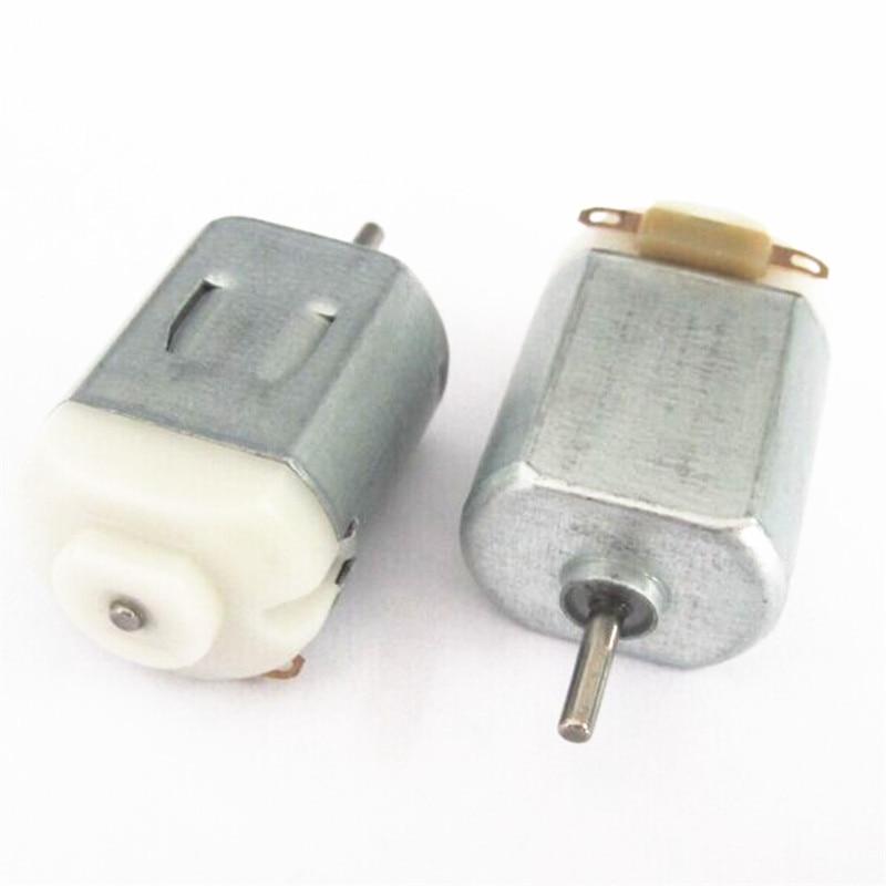 Micro 130 pony bis zu vier stick dc motor kleine motor produktion von 3 V-6 V