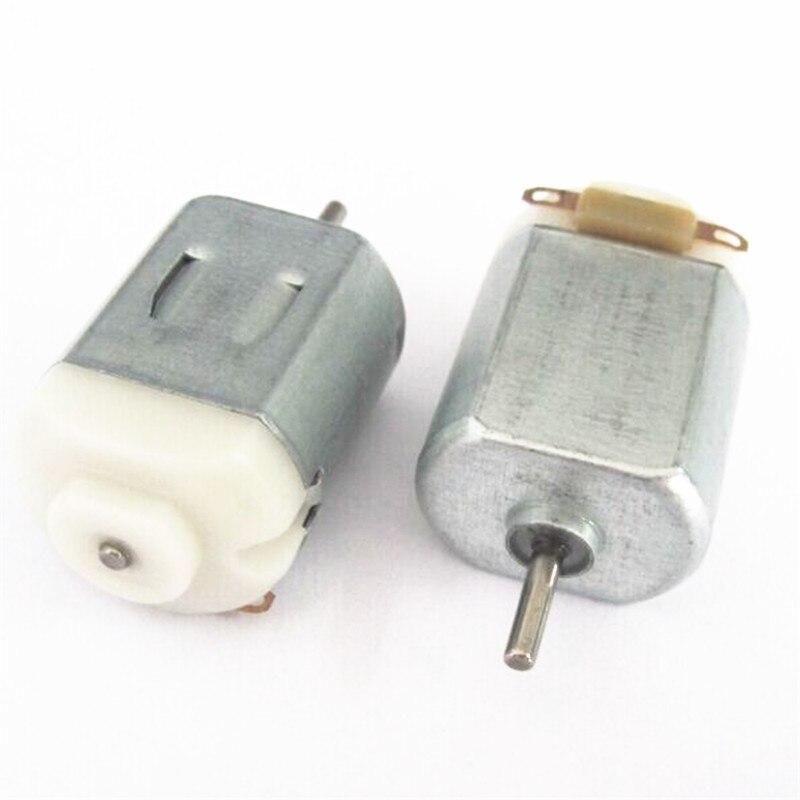 Micro 130 pony hasta cuatro motores dc Producción de motor pequeño de 3 V-6 V