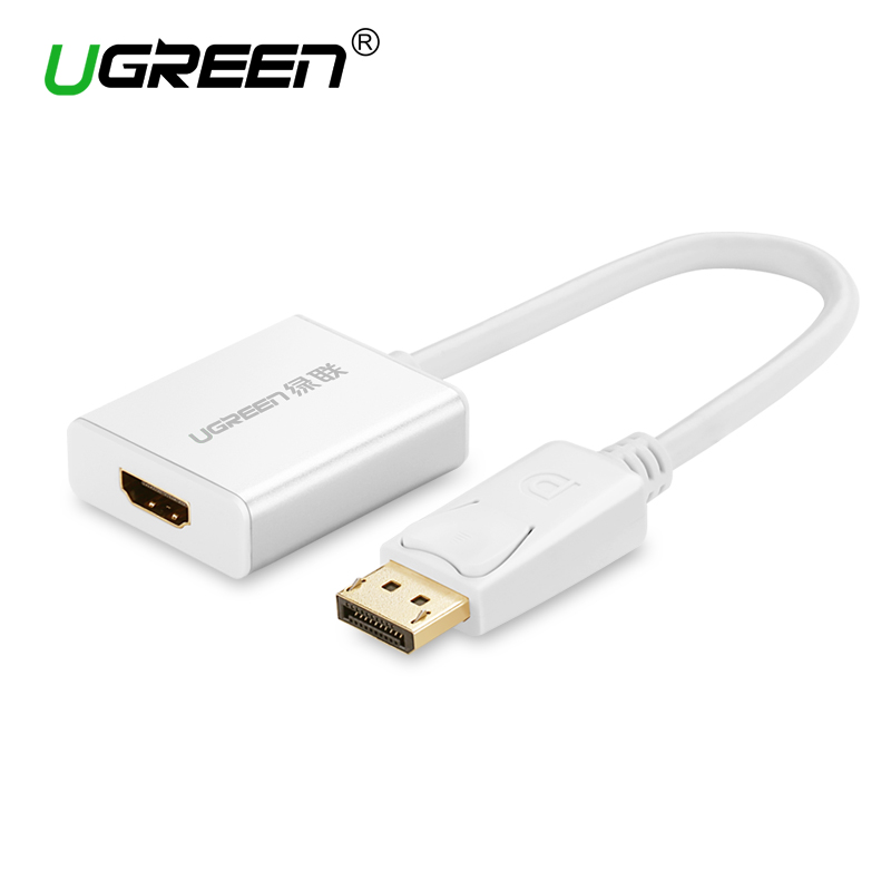 Ugreen 1080 P displayport DP ZUM HDMI Adapter DP Stecker auf HDMI Buchse Kabel Video Audio Kabel für HDTV projektor