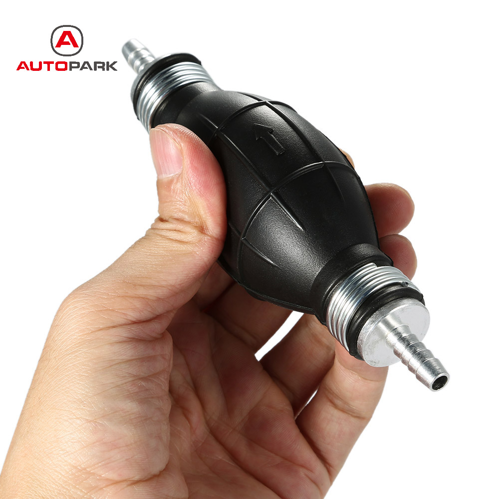Kkmoon 8mm Fuel Bulb Hand Pump Petrol and Diesel Inline Filter for ...