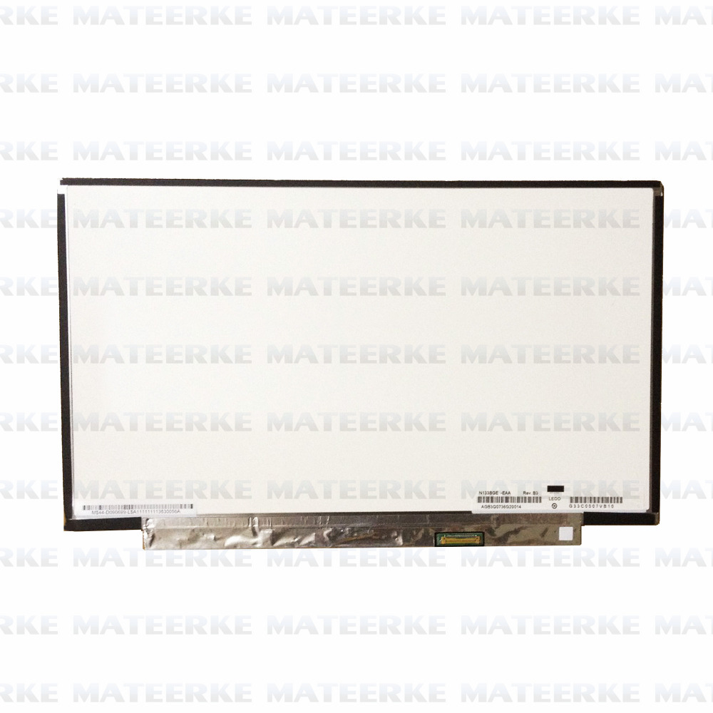 Test N133BGE-EB1 LED LCD Screen for Chi Mei 13.3 WXGA Laptop Display compatible N133BGE-EAA chi mei