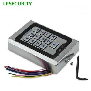 Image 2 - Non waterproof door gate opener keypad reader Rfid 125khz Metal Single Door Access Controller Rfid Keypad
