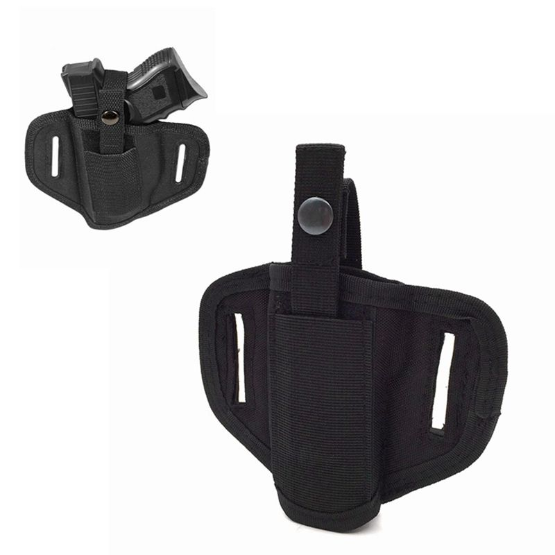 Gun Holster Concealed Carry Holsters Nylon Belt Holster Airsoft Gun Bag Right / Left Hunting Accessories For All Sizes Handguns