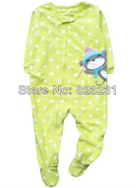 10c749c4e2 Carter s fleece zip up footed romper