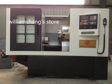 CKM6640 CNC 45 Degrees Slant Bed metal lathe machine GSK980TD