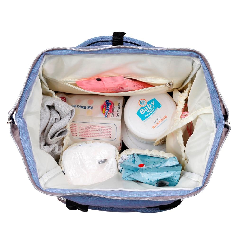 19d8cfad48e1 Baby diaper bag backpack designer diaper bags for mom mother maternity nappy  bag for stroller organizer bag set accessories