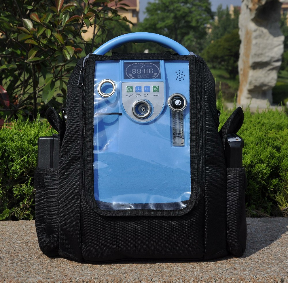 Newest Lovego 5L portable oxygen concentrator for home/car/travel coxto home car travel 1l 5l 90