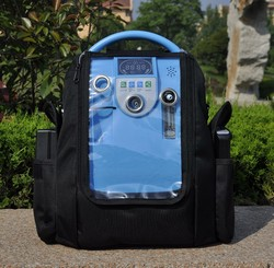 Newest Lovego 5L portable oxygen concentrator for home/car/travel