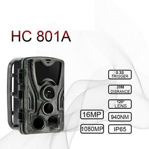 "Image 1 - HC801A HC801M ציד שביל מצלמה אינפרא אדום 2G דוא""ל MMS תמונה מלכודות SMS ראיית לילה חיות בר Gsm מצלמה de chasse infrarouge"