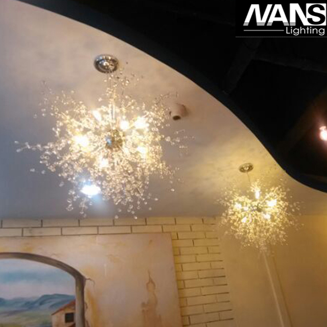 NANS vanity acrylic  decoration Bulb led fancy lamp modern style bedroom fitting pendant ceiling light  living room chandelier