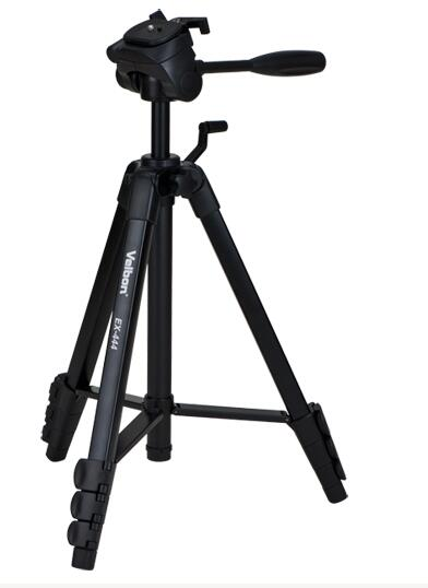 Free Shipping!!Velbon EX-444 black Camera photo Tripod w/Panhead 1534mm Load:2kg,EU tariff-free sushi cabinet su12