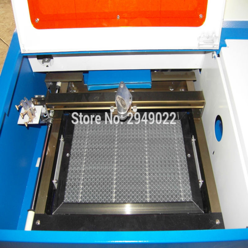 promotion for blue color mini laser engraving machine cnc laser/co2 laser laser head owx8060 owy8075 onp8170