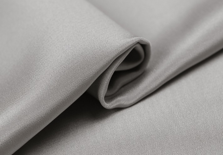 Howmay 100 pure silk fabric crepe de chine 30m m 45 130gsm 114cm CDC silver 12