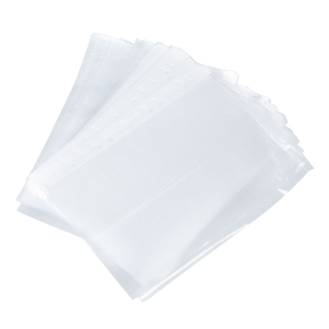 Office School A4 Papers Document Sheet Protector Clear White 100 Pcs