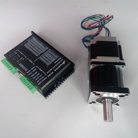 Ratio 5:1 NEMA23 Motor 2.2NM 320Oz in 3A 4 Wires driver kits stepper motor with Planetary gearbox Speed reducer for CNC