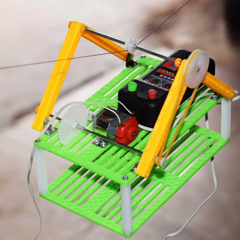 เที่ยวชมสถานที่ไฟฟ้าสายรถรุ่น/ปีนเชือกเดินตะกร้า/วิทยาศาสตร์ฟิสิกส์ทดลองการศึกษาของเล่น/DIYของเล่นชิ้นส่วน