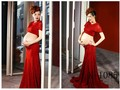 New Maternity pregnant women Photography Props women Gown Dress Pregnancy Rose Red Mermaid clothing Romantic Photo shoot