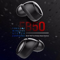 ROCKSPACE TWS Mini Sport Wireless Bluetooth 4 2 Earphone HeadphoneTrue Wireless Stereo With Metal Charger Box