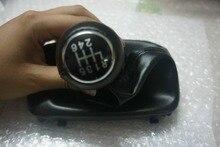 Grasa 6 speed car gear shifter perilla palanca de la cubierta de arranque gaitor negro para audi a6 c5 b5 a4 a8 d2 1997 1998 1999 2000 2001 2002 2003