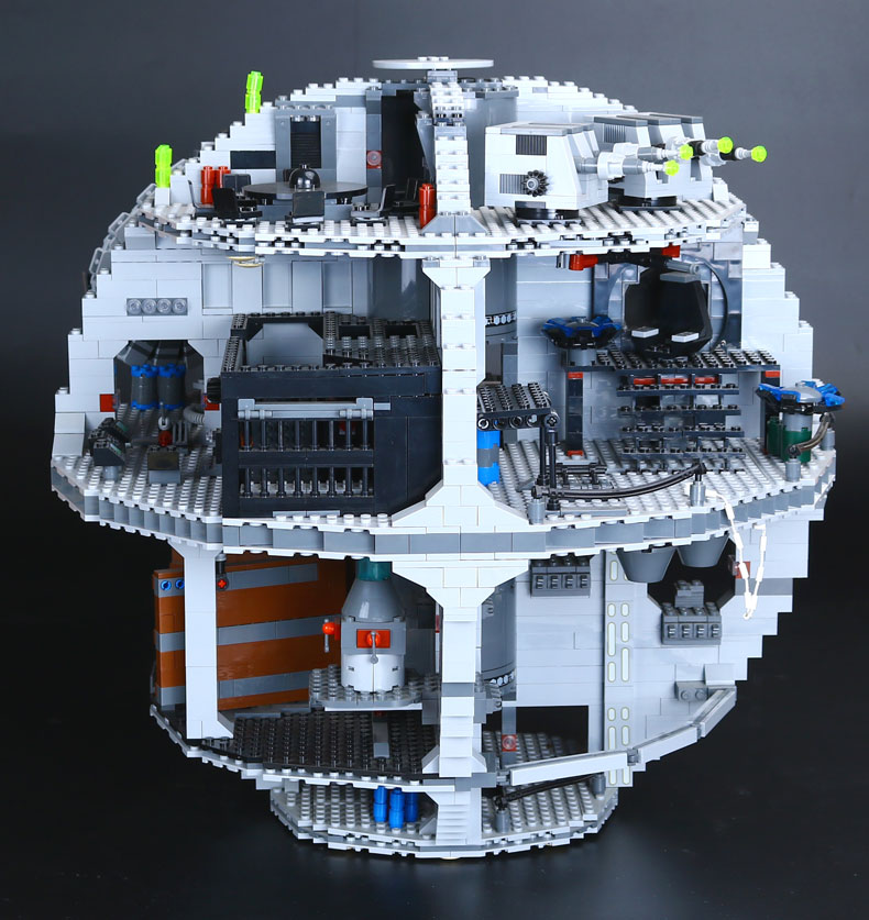 LEPIN 05035 3804pcs Genuine Death Star Educational Building Block Bricks Toys Kits Compatible with 10188 Child Gift new lepin 05035 star wars death star 3804pcs building block bricks toys kits compatible legoed with 10188 children educational