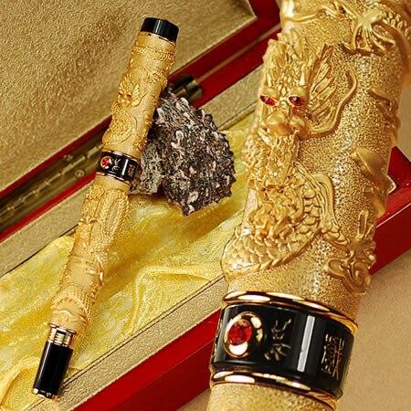 ФОТО JINHAO Golden B Nib Fountain Pen