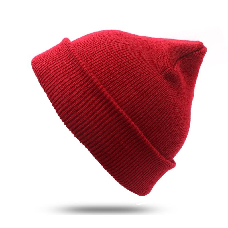 2pcs New Fashion Autumn Winter Hats For Men Beanie Hats Women Ladies Mens Skullies Hats For Women Solid Winter Cap Female fashion printed skullies high quality autumn and winter printed beanie hats for men brand designer hats