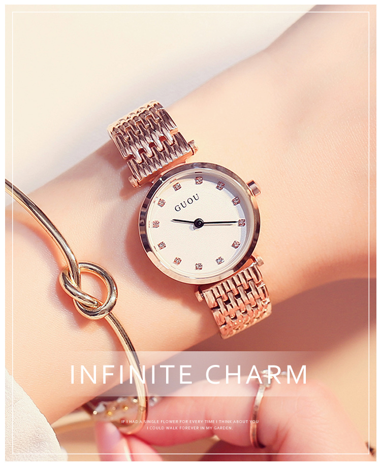 2017 New Fashion Watch Women's Rhinestone Quartz Watch Relogio Feminino The Women Wrist Watch Dress Fashion Watch Reloj Mujer misscycy lz the 2016 new fashion brand top quality rhinestone men s steel band watch quartz women dress watch relogio feminino