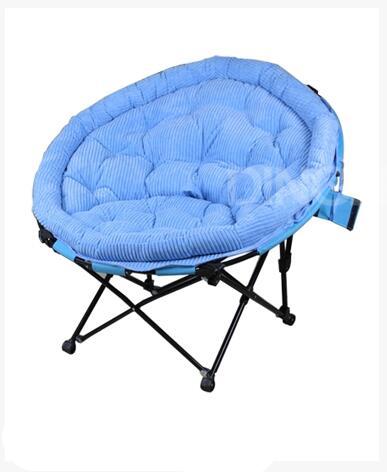 Comfortable Fashion Leisure Outdoor Chairs Enjoy Lazy Afternoon Sun Chairs Soft Multicolor Folding Balcony Chairs