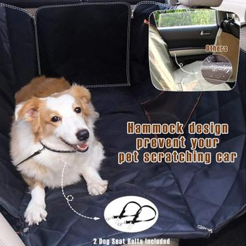 Sensational Car Dog Backseat Cover Auto Rear Row Pad Seat Cover With Short Links Chair Design For Home Short Linksinfo