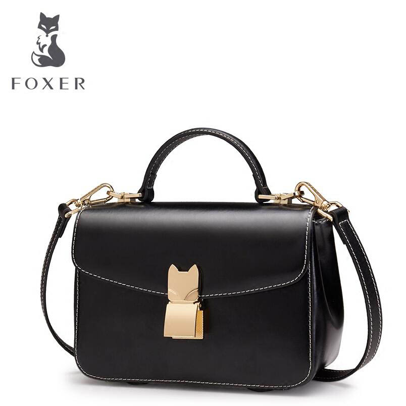 цены FOXER2018 high-quality luxury fashion new mini chain bag Korean small square bag Shoulder Messenger bag