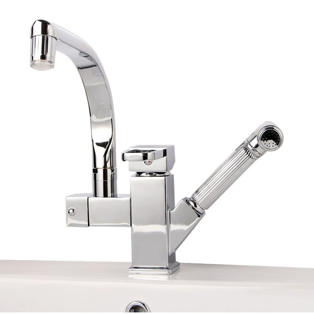 New Copper Basin Faucets LED Colorful Light Bathroom Water Faucet ...