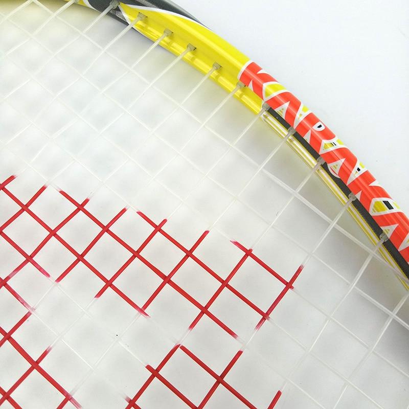 Officiel Karakal Raquette de Squash Avec Courge Chaîne Sac Professionnel Carbone Match de Padel Jeu de Sport Formation raquete de courge - 5