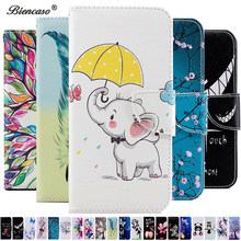 P Smart 2019 Panda Pohon Flip Wallet Leather Case For Huawei Honor 10 P30 P20 Pro P10 Lite Nova 3i P Smart Plus Funda Cover B116(China)